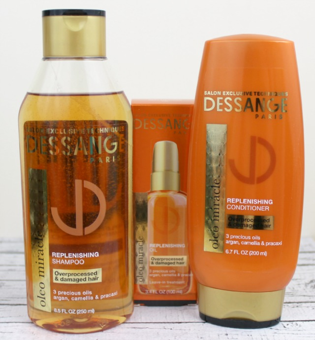 Dessange Paris Oleo Miracle Haircare Collection ingredients Influenster #JAdoreDessange VoxBox
