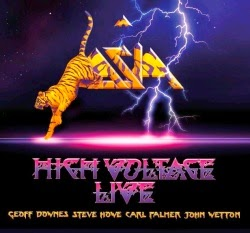 Asia High Voltage Live CD y DVD