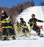 Firefighter Ski Race