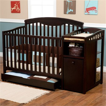 Bassinet Changing Table Combo4