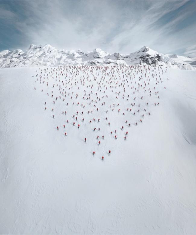 Alpinistas em ação por Robert Bosch