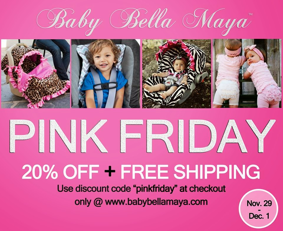 Baby Bella Maya  pink friday sale ad