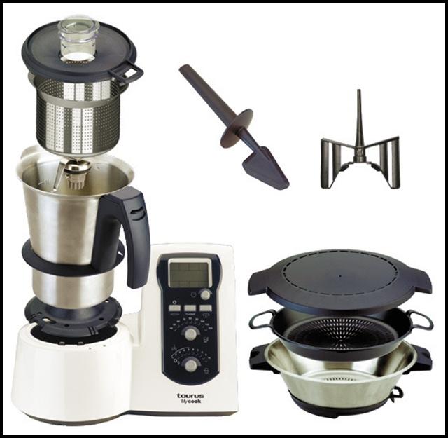 Compra mycook alternativa a la thermomix andromeda for Robot cocina lidl opiniones