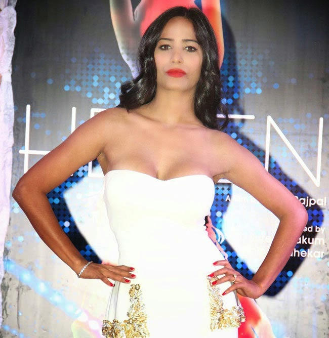 Poonam Pandey hot photos in Helen Hind Movie Poster Launch