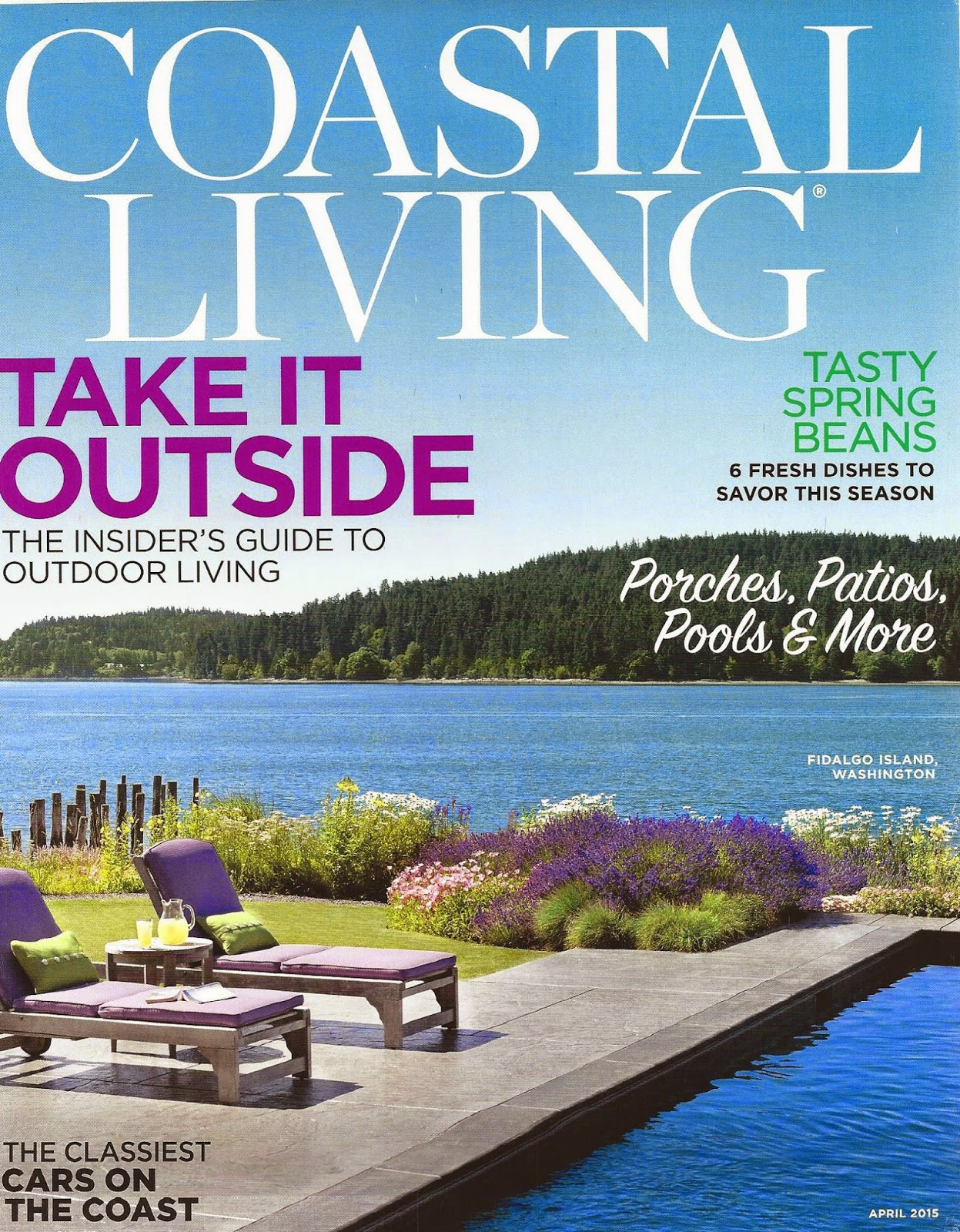 Caronu0027s Beach House Has A Featured Product In Coastal Living Mag!