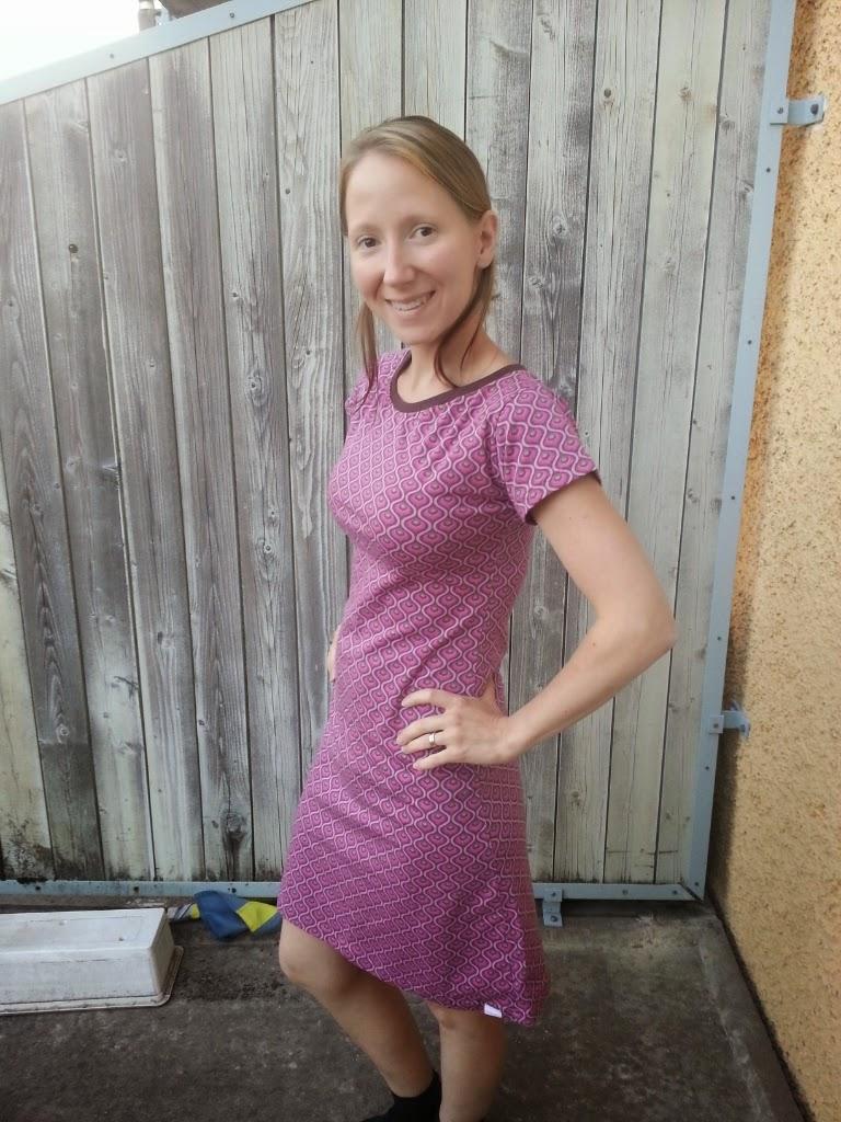 klänning storlek s jersey trikå sy