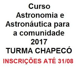 TURMA CHAPECÓ - INSCRIÇÕES ABERTAS