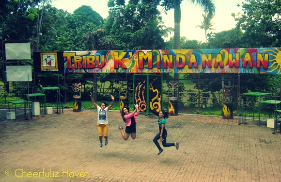 Davao Crocodile Park - Tribu K'Mindawan Epic Jump shot