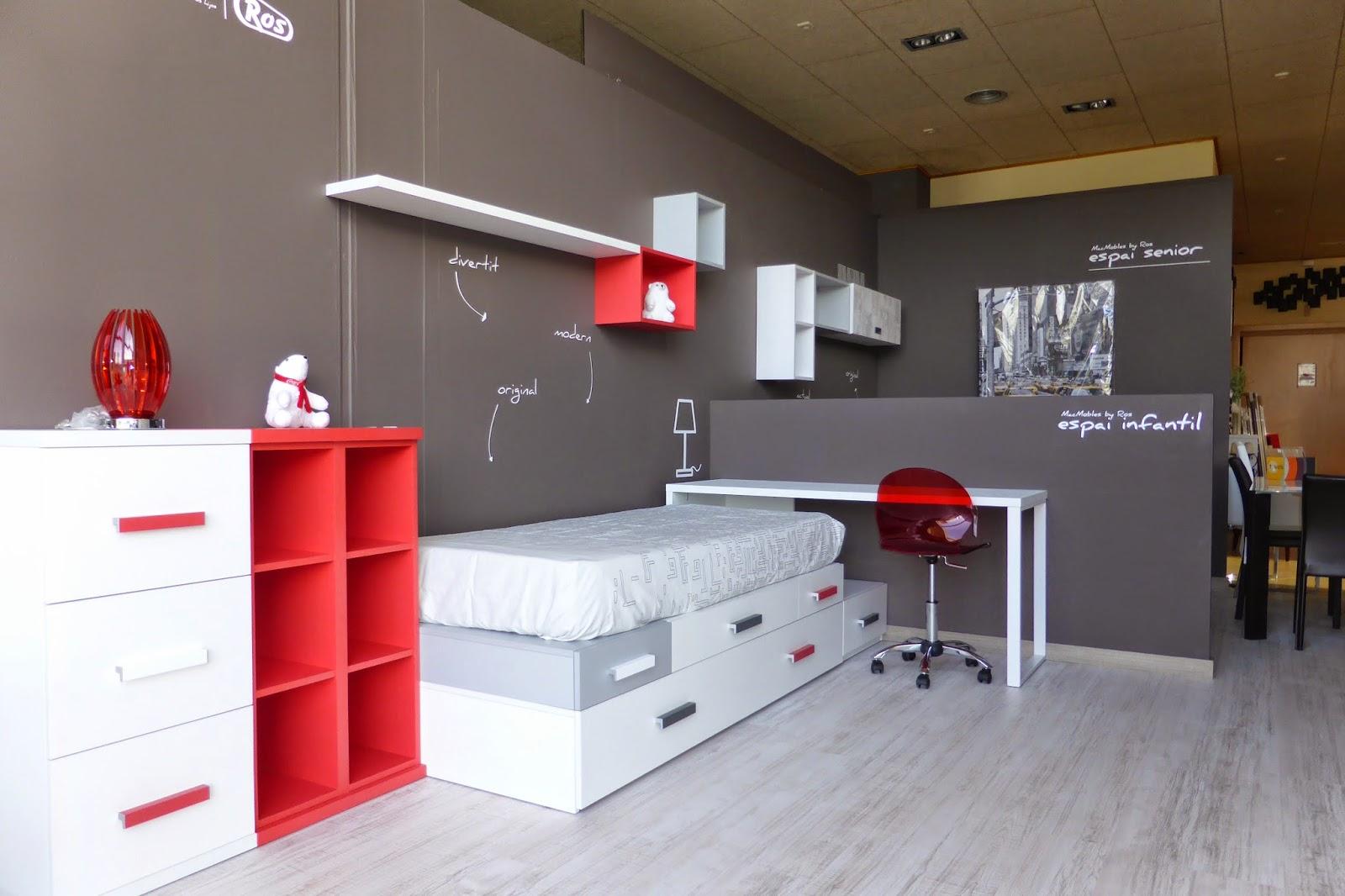 Muebles ros los espacios ros llegan a macmobles for Muebles infantiles ros