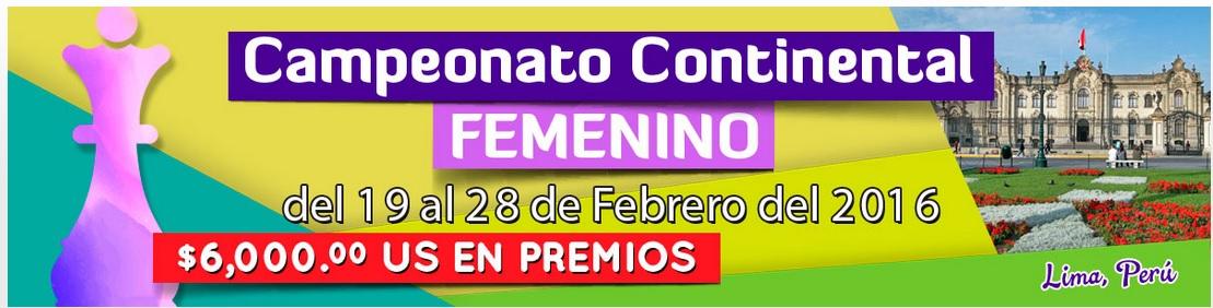 Campeonato Continental Femenino 2016