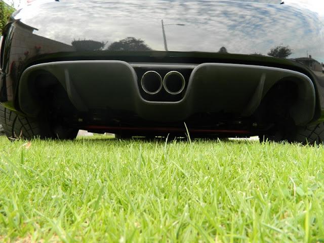 Road Race Motorsports Fiat 500 Abarth Urban Warrior 220 rear splitter