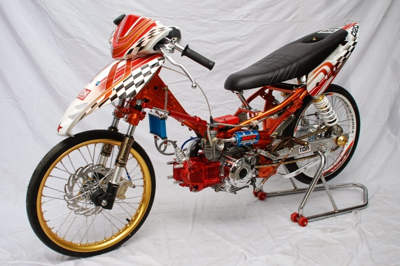 kumpulan motor modifikasi vega r