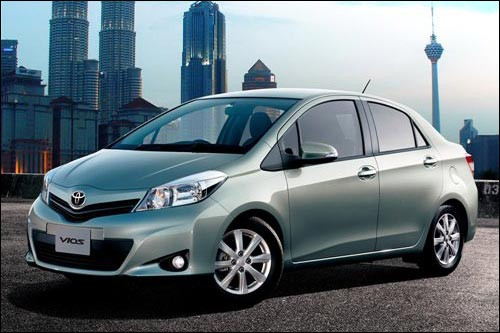 Quick Look at the 2013 Toyota Vios
