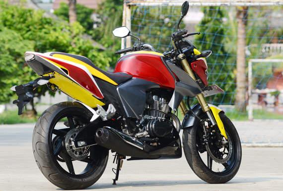 Modifikasi Honda New Mega Pro 2012 Simpel ~ modifikasi motor