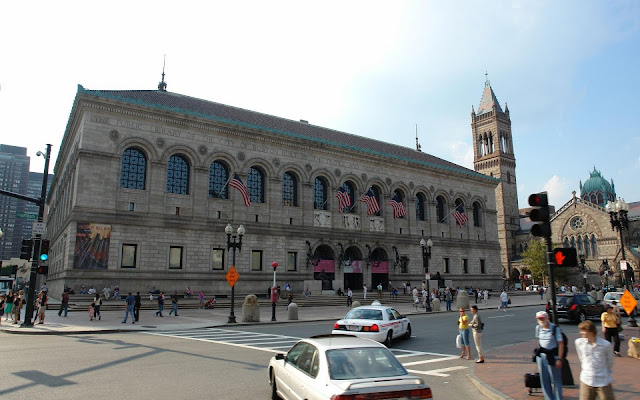 Boston Public Library, Boston, Massachusetts, United States