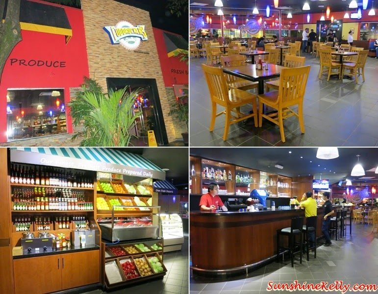 Fuddruckers Lot 10 Shopping Centre, Fuddruckers Malaysia, American Casual Dining, Fuddrucker, American Food