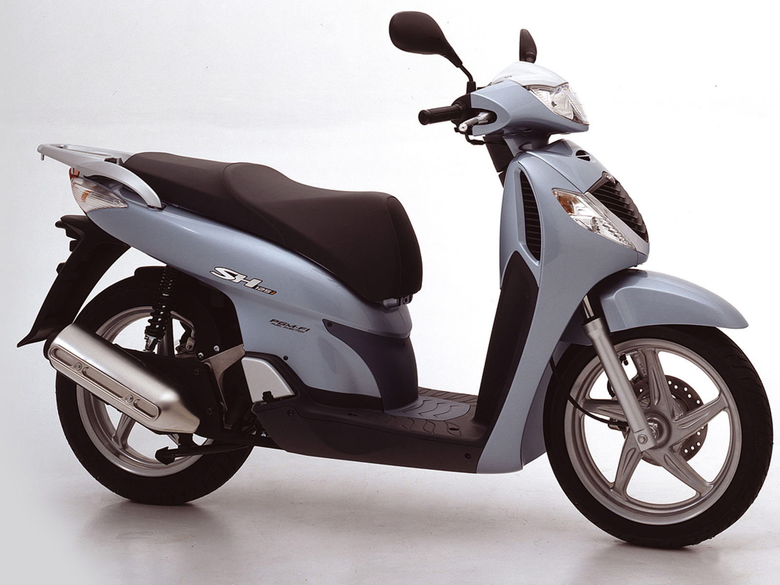 2005 HONDA SH150i accident lawyers, Scooter Pictures