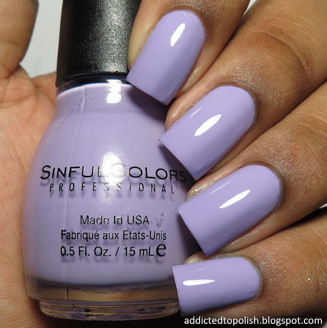 sinful colors truth or lavendare top coat