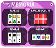 JUEGOS MEMORIA Y ATENCIÓN
