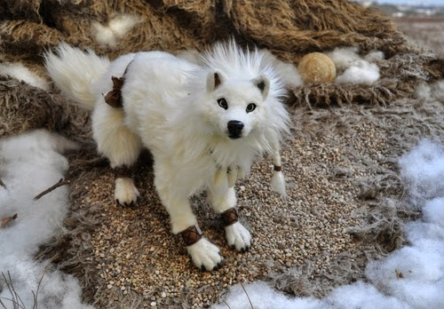 25-The-Hunter-Of-The-Tundra-Lisa-Toms-Maker-of-Mythical-Creatures-and-Pet-Dolls-www-designstack-co