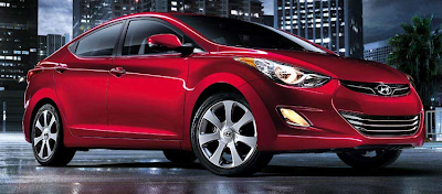 2013 Hyundai Elantra red