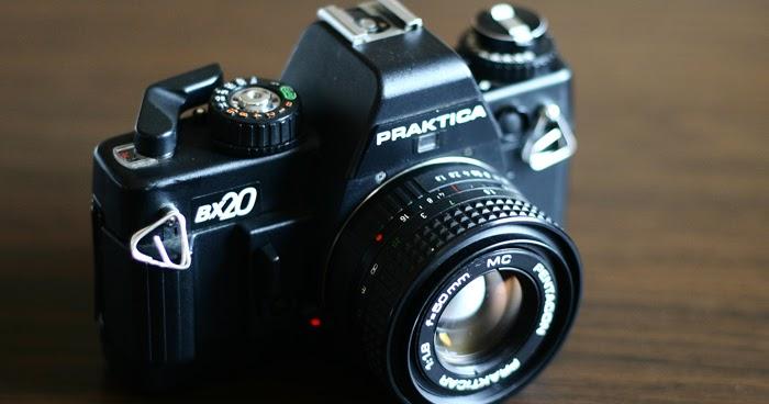 Praktica bx pan s film cameras