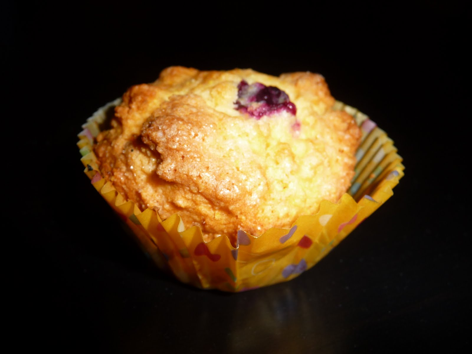 The World Tasters: Blueberry Cornmeal Muffins
