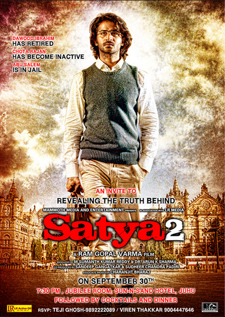 Watch Satya 2 (2013) Hindi DVDScr Full Movie Watch Online For Free Download