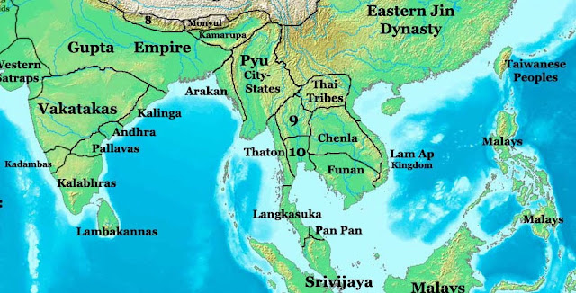 Brahmin Kaundinya of Funan Kingdom of Vietnam - Geography of India and Funan