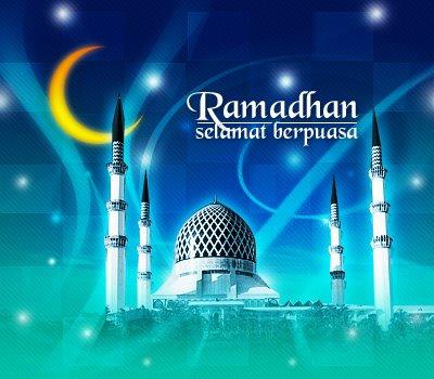 Kata-kata Ucapan Ramadhan berbentuk Gambar