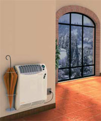 Caldaie a condensazione termoconvettori termoventilatori - Termosifoni elettrici a parete prezzi ...