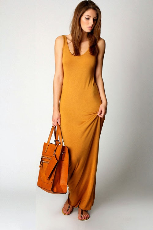 Now We Go To Women S Clothing I Chose A Summer But Which Can Also Be Used In Winter As Well Burnt Yellow Color Dress With Nothing Special