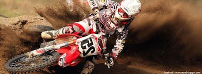 Couverture facebook originale Motocross