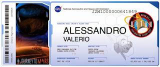 Biglietto su Marte