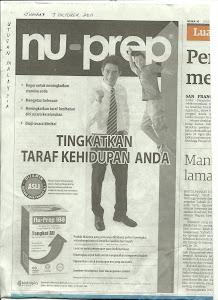 Tongkat Ali Nu-Prep 100 ' Contoh - Iklan dari 2010 - 2012.