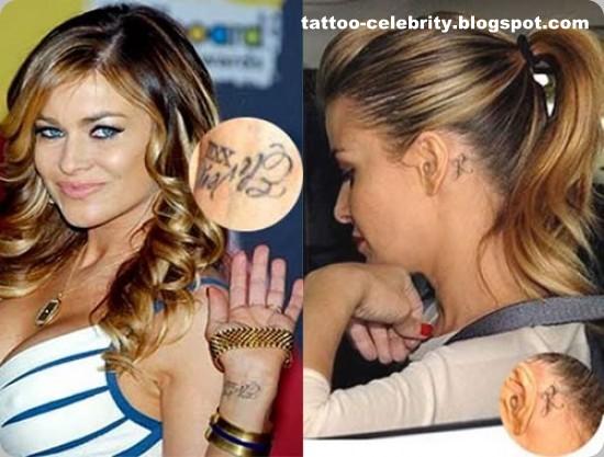 Anjelina Jolie sexy tattoos