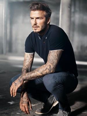 moda hombre David Beckham H&M pantalon polo primavera verano 2015