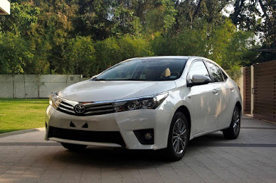 Spesifikasi Eksterior Depan Toyota All New Corolla Altis 2016 Indonesia