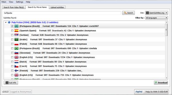 افضل البرامج والادوات المتوفرة على الانترنت لترجمه الافلام rsz_subdownloader_2.
