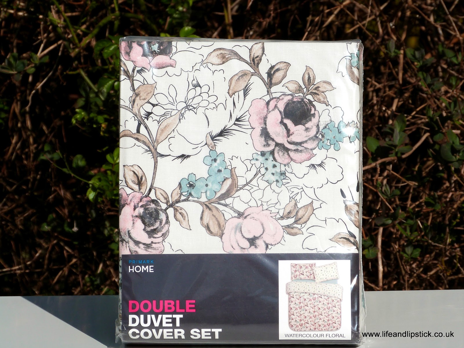 Primark Floral Double Duvet Cover Set