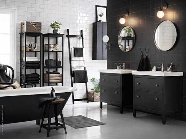 Ikea Bathroom Hemnes Images