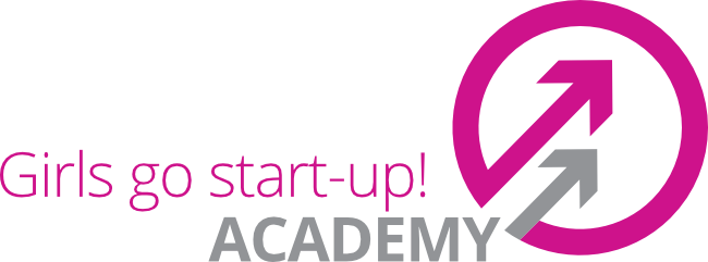 Logo Girls go start-up! Academy