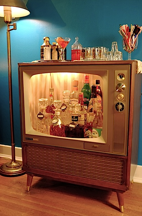 vintage tv stand ideas 2