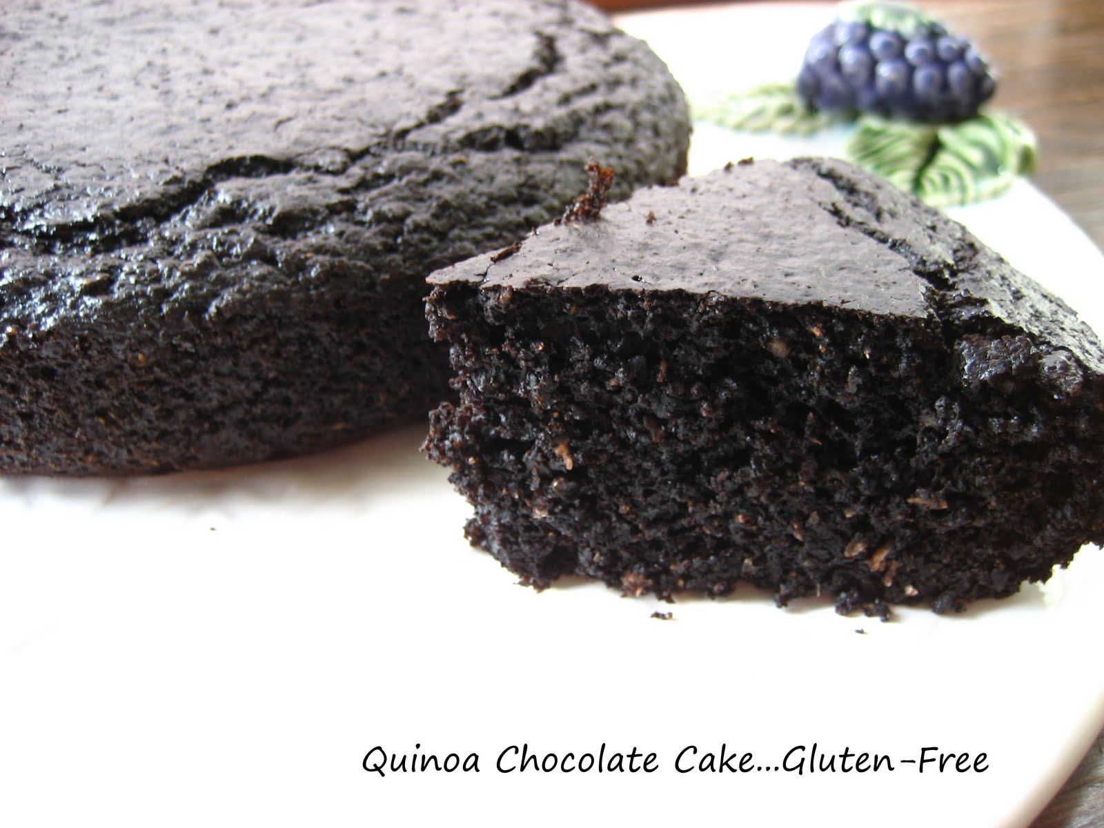 Home Cooking In Montana: Chocolate Quinoa Cake...Gluten-Free