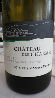 Château des Charmes Chardonnay Musque 2013 - VQA Niagara-on-the-Lake, Niagara Peninsula, Ontario, Canada (88 pts)