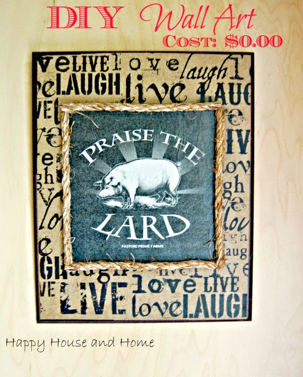 DIY wall art, Make a print, mod podge, mod podge projects