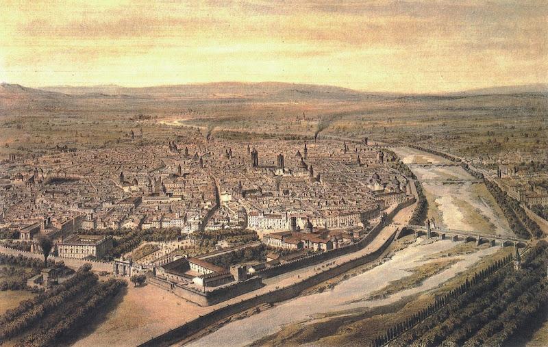 Valencia, grabado siglo XIX title=