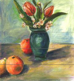 guaj boya tekniklerinden örnekler