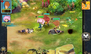 Screenshots of the Fantasy adventure Z for Android tablet, phone.
