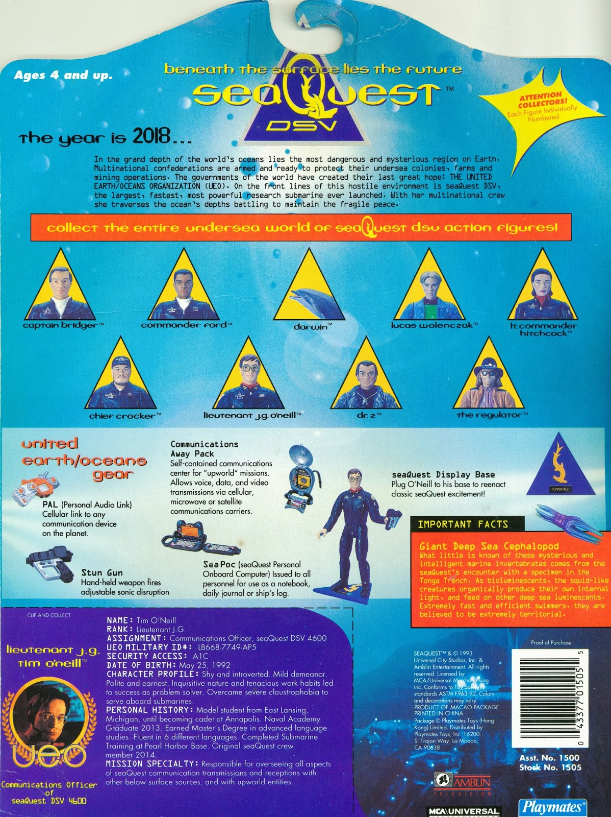 Seaquest DSV Action Figure